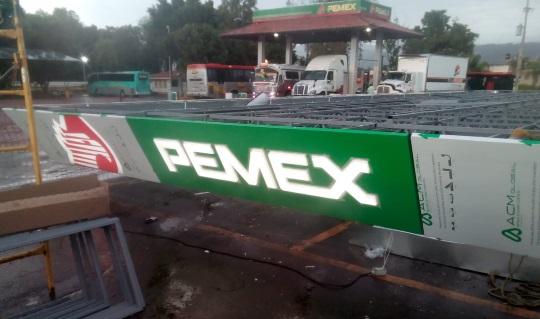 Faldon Pemex Nivel 2